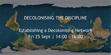 Establishing a Decolonising Network tickets