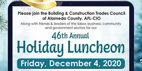 Alameda County's BCTC 46th Annual Holiday Luncheon - benefiting CTWI tickets