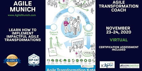 Agile Munich   Online Certified Agile Transformation Coach I (C-ATC I) tickets