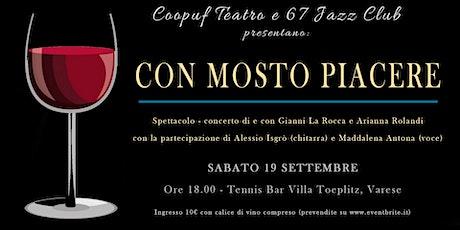 Con MoSto Piacere / Teatro, musica e Vino biglietti