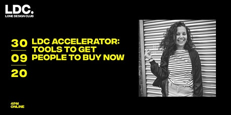 LDC Accelerator: Tools to get people to buy now tickets