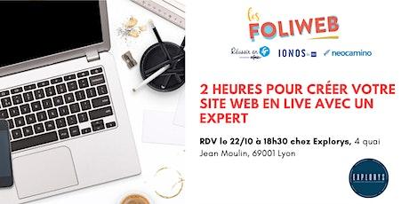 [Lyon] 2 heures pour créer votre site web en live avec un expert billets