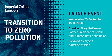Transition to Zero Pollution: Launch Event tickets