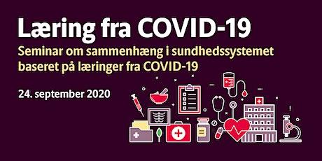 Seminar om sammenhæng i sundhedssystemet baseret på læringer fra COVID-19 tickets