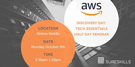 AWS Discovery Day – Free Tech Essentials Half Day Seminar tickets