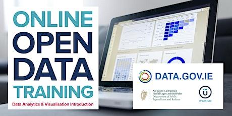 ONLINE Ireland Open Data - Data Analytics & Visualisation Intro (Oct 2020) tickets