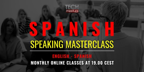 Spanish Masterclass for English Speakers tickets