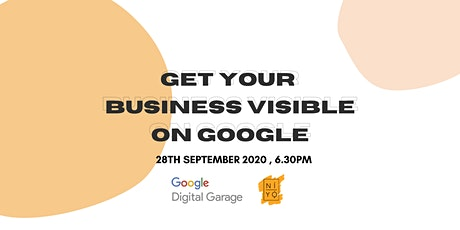 Get Your Business Visible on Google - Niyo Network tickets