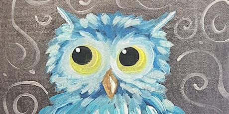 Paint Along - Owl tickets