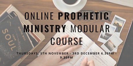Online Prophetic Ministry Modular Course tickets