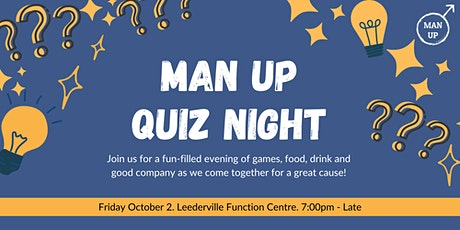 MAN UP Quiz Night tickets