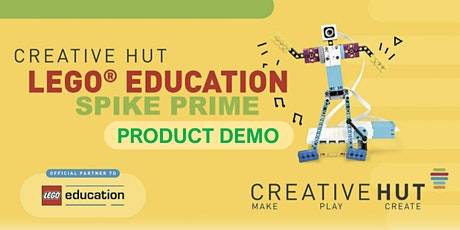 LEGO Education SPIKE Prime - Online Demo - Secondary Computing & STEAM tickets
