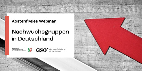 Applying for a junior research group in Germany: Free webinar in German Tickets