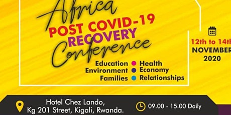 Africa Post Covid-19 Recovery Conference tickets