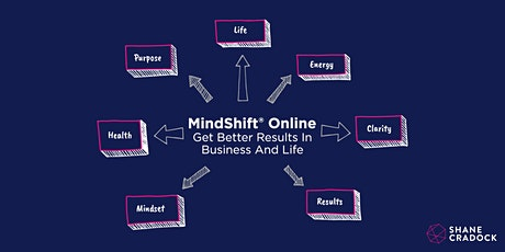 MindShift ONLINE (Sep-Nov 2020) tickets