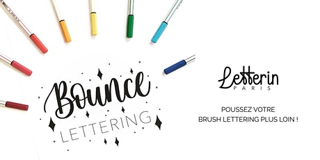 ATELIER BOUNCE LETTERING • 3 OCT PARIS billets