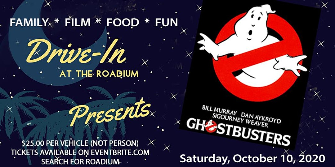 Ghostbusters Drive-In Movie at the Roadium in Torrance - Los Angeles Best Things to Do With Kids List for Halloween 2020!