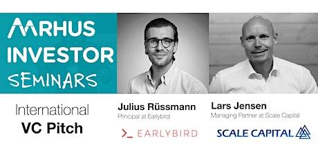 Aarhus Investor Seminar: Meet Scale Capital and Earlybird (Virtual event) tickets