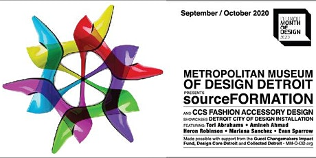 Metropolitan Museum Of Design Detroit (MM-O-DD) presents sourceFORMATION tickets
