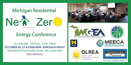 2nd Annual Residential Michigan Net Zero Conference - Virtual tickets