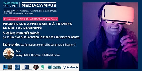 Nantes Digital Week - Promenade apprenante à travers le digital learning tickets