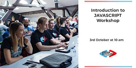 Introduction to JAVASCRIPT Workshop biglietti