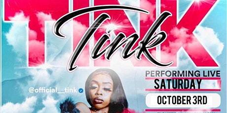 Tink Performing Live in Concert tickets
