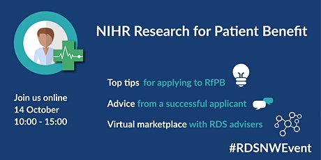 NIHR Research for Patient Benefit Programme tickets