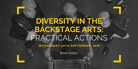 ABTT & Tonic Theatre Seminar 3: Diversity in the Arts - Practical Actions tickets