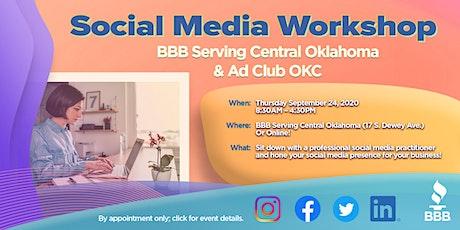 BBB® and OKC Ad Club - Social Media Workshop tickets