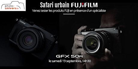 Safari urbain FUJI GFX 50R billets