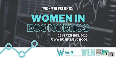 WIB X WEN: Women in Economics tickets