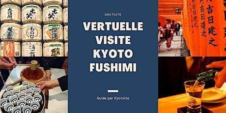 Visite Vertuelle magnifique ville  Kyoto, quartier biglietti