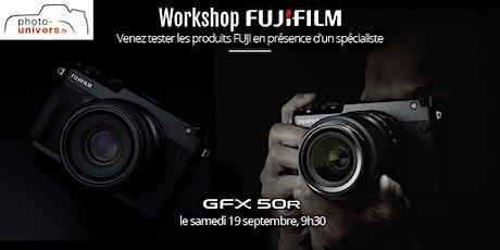 Workshop studio FUJI GFX 50R billets