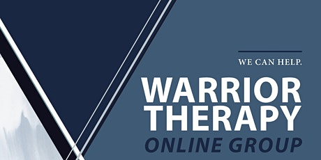 Warrior Online Therapy Group for Anxiety and Depression tickets