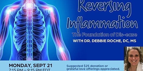 Reversing Inflammation, The Foundation of Dis-ease by Dr. Debbie Roche, DC tickets
