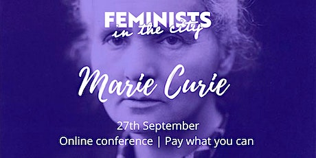Marie Curie - Online conference tickets