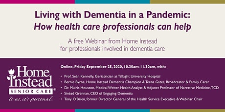 Living with Dementia in a Pandemic - How Health Care Professionals Can Help tickets