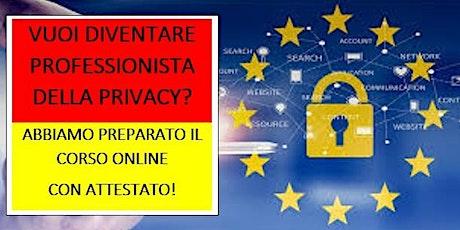 VUOI DIVENTARE UN DATA PROTECTION OFFICER? CORSO PRATICO - CON ATTESTATO! biglietti