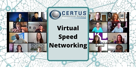 CERTUS Virtual Speed Networking tickets