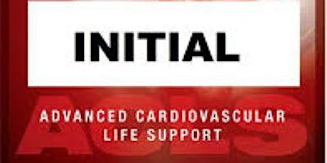 AHA ACLS 1 Day Initial Certification October 9, 2020 (FREE BLS) tickets