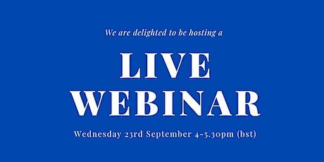 UCL M&A Group Live Webinar tickets