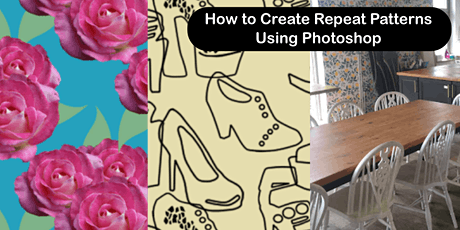 'Photoshop for Textile Design: How to Design Repeat Patterns tickets