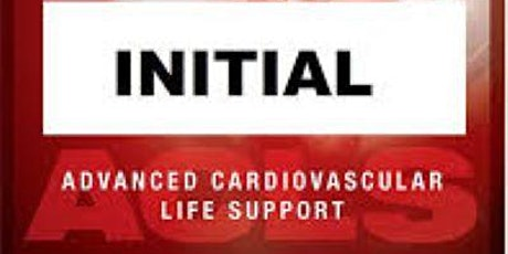 AHA ACLS 1 Day Initial Certification October 20, 2020 (FREE BLS) tickets