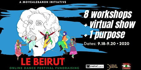 Le Beyrouth, online dance fundraiser tickets