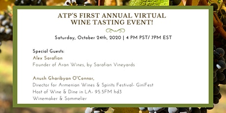 ATP's First Annual Virtual Wine Tasting tickets