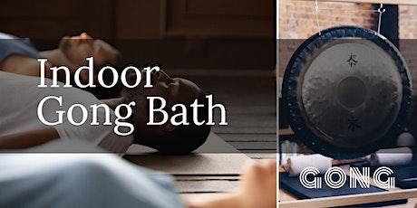 Indoor Relaxing Gong Bath tickets