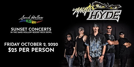 Mister Hyde - Sunset Concerts in the Sand Hollow Resort Rock Bowl tickets