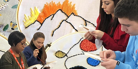 Streatham Festival: Embroidery Workshops at Woodfield Pavilion tickets