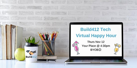 Pittsburgh Tech Happy Hour - Virtual 11/12 tickets